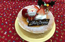 クリスマスチーズケーキ5号~6号予約販売のみ