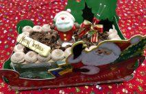 チョコ生クリスマスケーキ18×9センチ